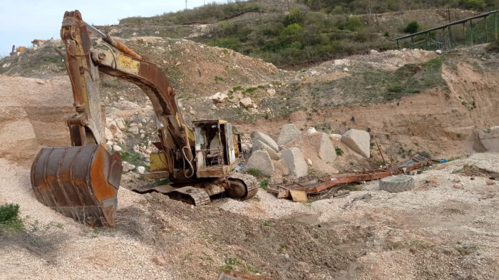 Armenia plunders limestone deposits in Azerbaijan's Zangilan –   PHOTO