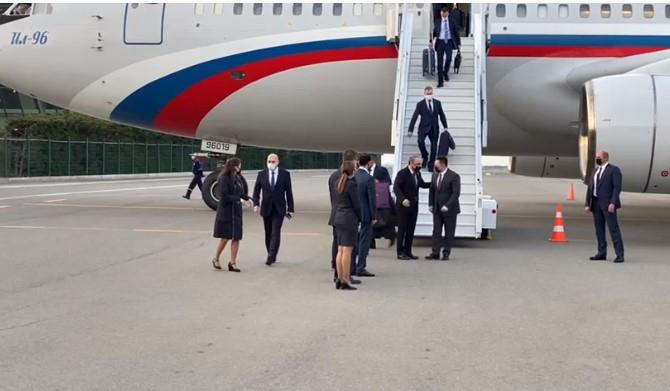 Le procureur général de la Fédération de Russie est arrivé à Bakou