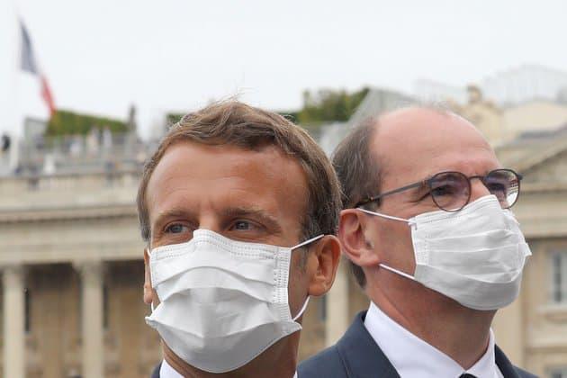 France: les cotes de confiance de Macron et de Castex reculent début avril