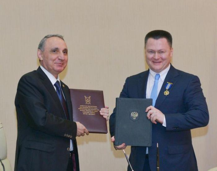 Kamran Aliyev se reúne con su homólogo ruso -  FOTOS