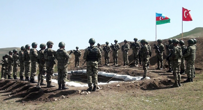 Finalizan los ejercicios conjuntos Azerbaiyán-Turquía -   VIDEO