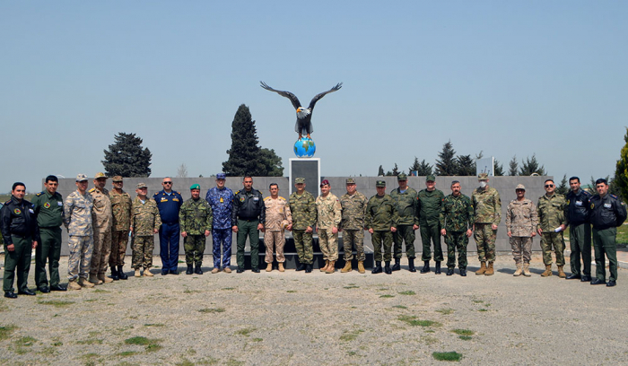 Foreign military attachés visit military unit of Azerbaijani Air Force