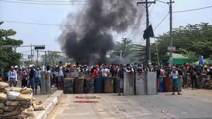 At least 20 killed during protests in Myanmar's Bago