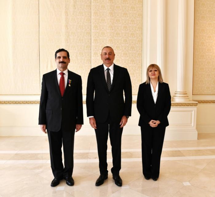 El embajador turco agradece al presidente de Azerbaiyán