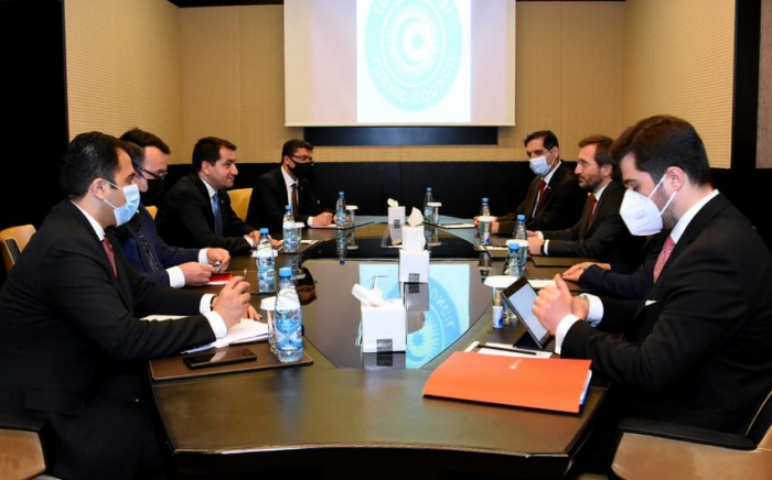 Azerbaijan's top official meets with Turkish communications director