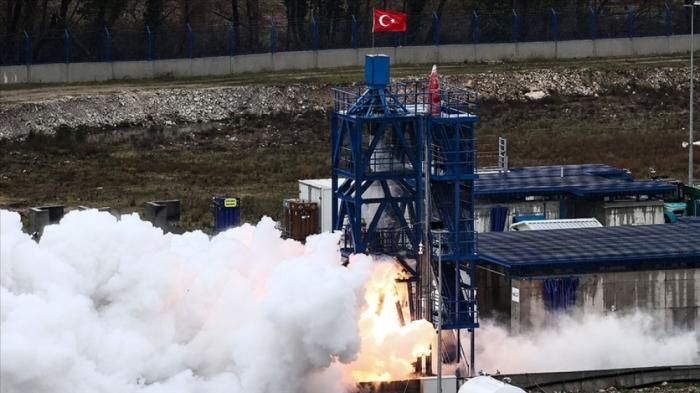 Türkiyə Ay missiyası üçün hibrid mühərrikin sınağını keçirdi