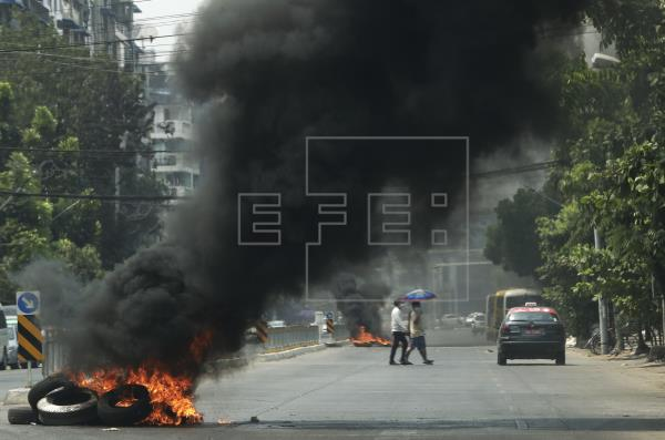 La Junta birmana mató a 82 personas en la represión en Bago, según una oenegé