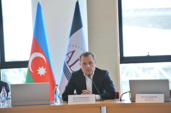 Azerbaijani FM attends round table organized by ADA University