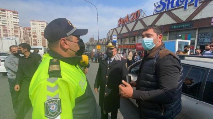 Yol polisini aldatmaq istəyən sürücülər cəzalandırıldı