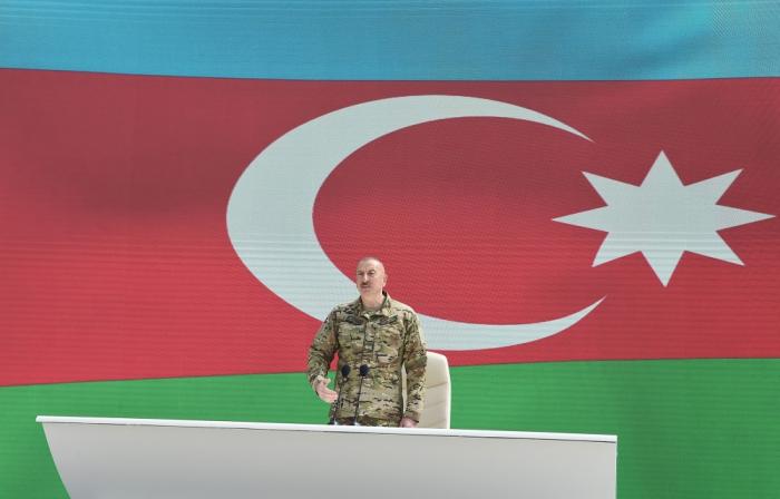 «Nous avons combattu et restauré la justice historique en versant le sang» - Ilham Aliyev