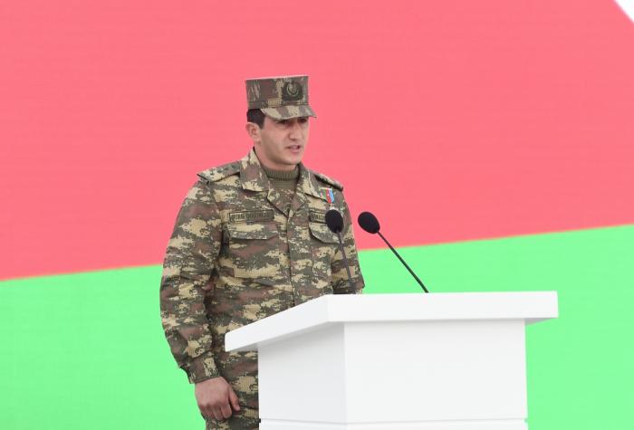 """Kapitan Ramazan Hudulov:    """"Bizim bir adımız var, biz azərbaycanlıyıq!"""""""