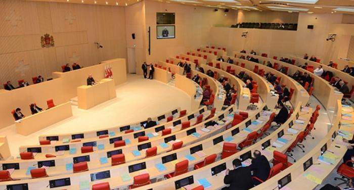 Karabach-Diskussion im georgischen Parlament