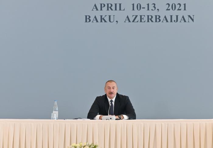 """""""Münaqişənin həll olunmaması üçün hər şeyi edirdilər"""" -    İlham Əliyev"""