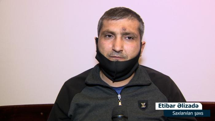 Yasamalda silahlı insident törədən şəxs saxlanılıb