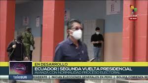 Empieza la segunda vuelta de las elecciones presidenciales en Ecuador