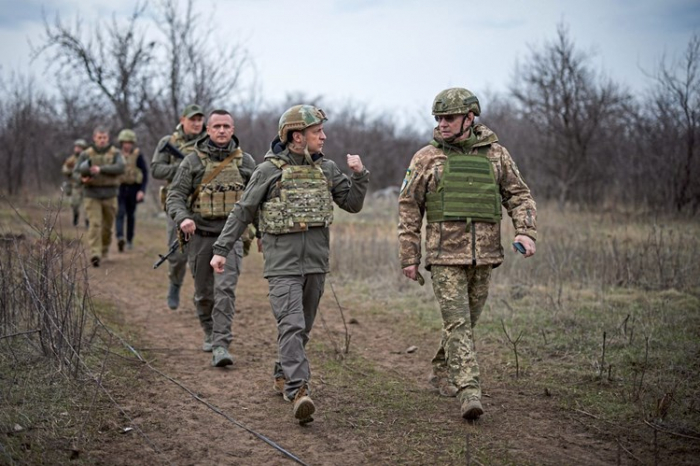 Kiew:  Russland hat 40.000 Soldaten im Donbass zusammengezogen