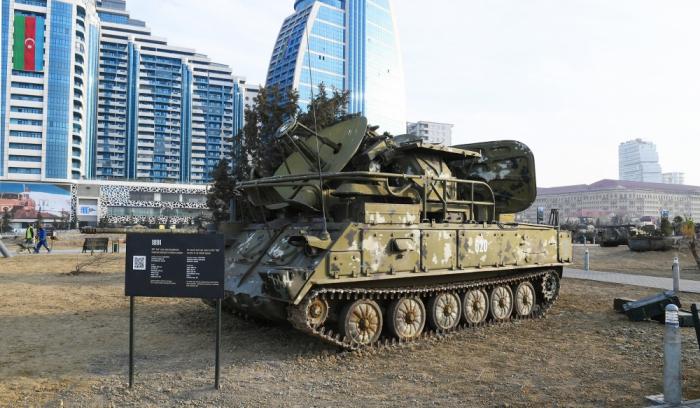 Kriegstrophäen-Park in Baku -   FOTOS