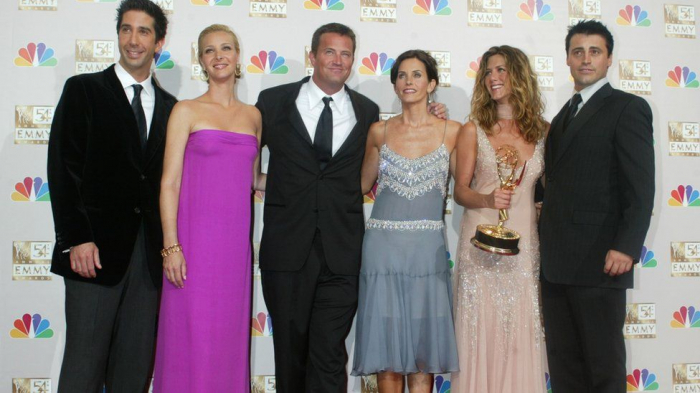 The Friends reunion shot in Los Angeles