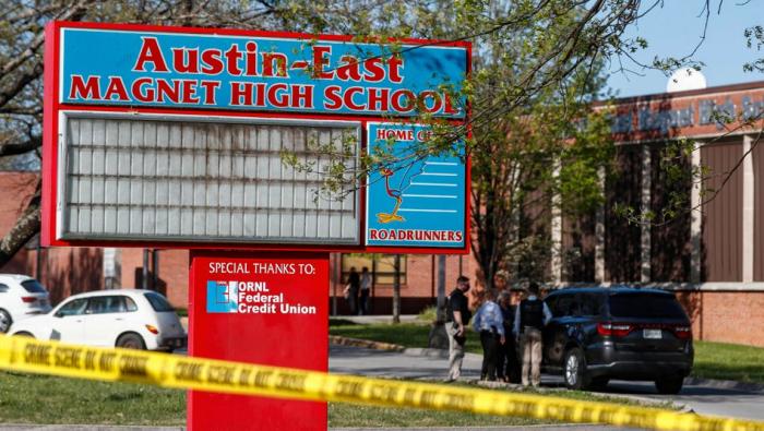 Ein Toter und ein Verletzter bei Schüssen an Highschool
