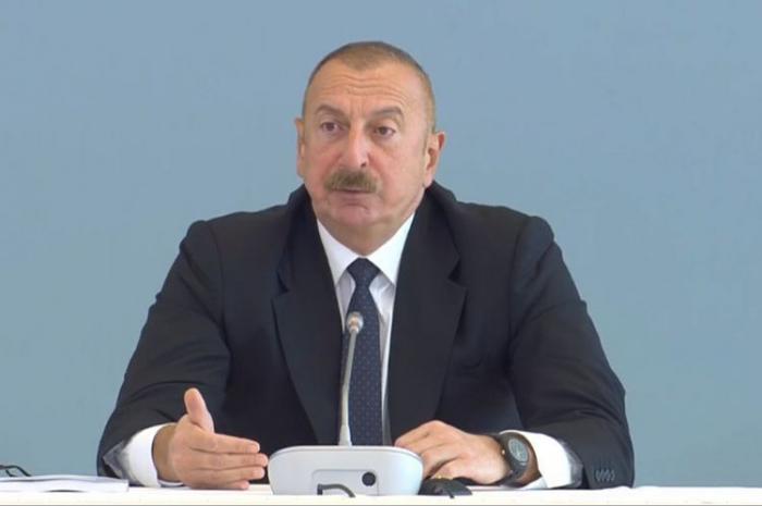 Ilham Aliyev:  «La destruction dans les territoires libérés dépasse les pires attentes»