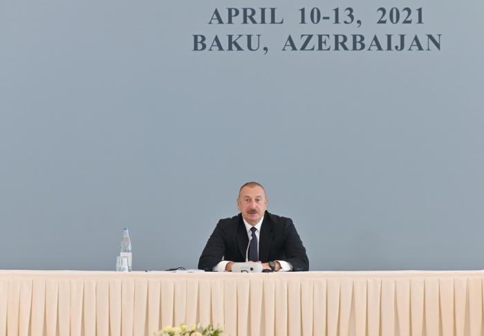 «De nombreuses questions sur le conflit restent en suspens»,  Président Ilham Aliyev