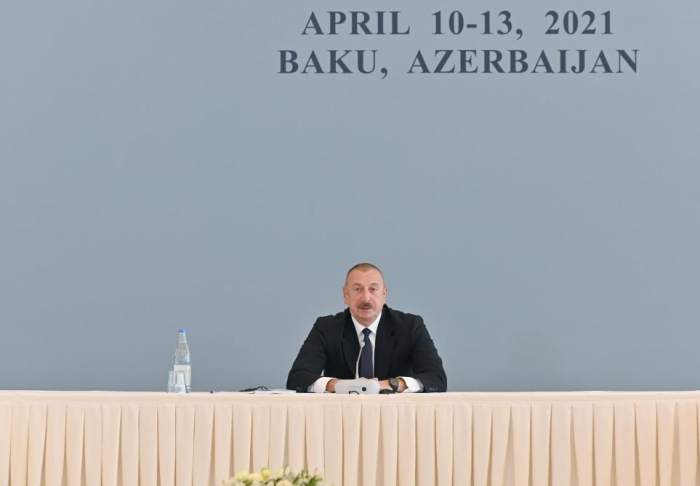 Azerbaijan was carrying out war of new morality – President Aliyev