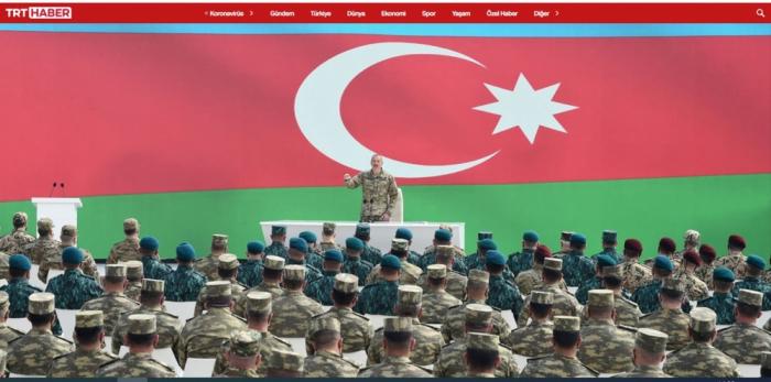 Türkiyə mediası Hərbi Qənimətlər Parkından yazır