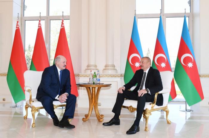 Ilham Aliyev et Alexandre Loukachenko ont fait une déclaration à la presse