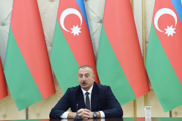 """İlham Əliyev:  """"Zəngəzur dəhlizi reallığa çevrilir"""""""