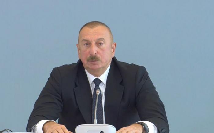 President Ilham Aliyev hails possibility of going back to Yerevan