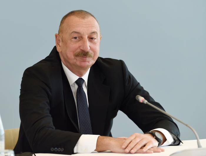 «Je suis reconnaissant au peuple pakistanais pour son soutien pendant la guerre»,  Ilham Aliyev