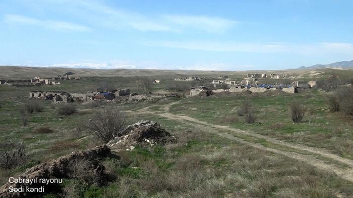 Une   vidéo   du village de Sadi de la région de Djabraïl diffusée