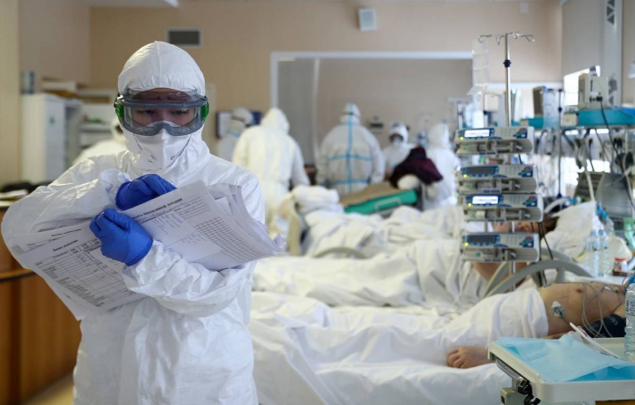WHO reports over 567,000 coronavirus cases globally in past day