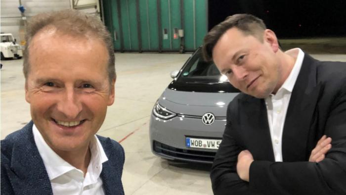 Musk wollte Diess zum Tesla-Chef machen