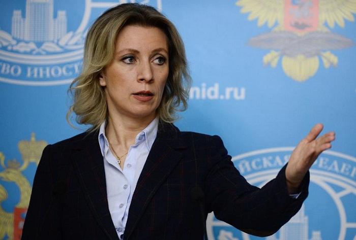 """""""Es gibt einen sehr aktiven Dialog mit Aserbaidschan""""  - Sacharowa"""