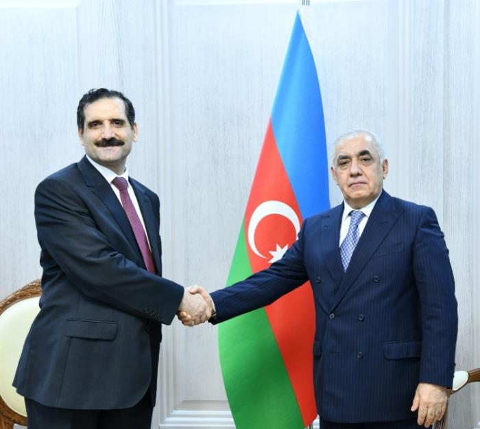 Le Premier ministre azerbaïdjanais rencontre l'ambassadeur turc