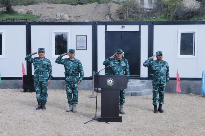 Une nouvelle unité militaire commence à exercer ses activités dans la région libérée de Goubadly