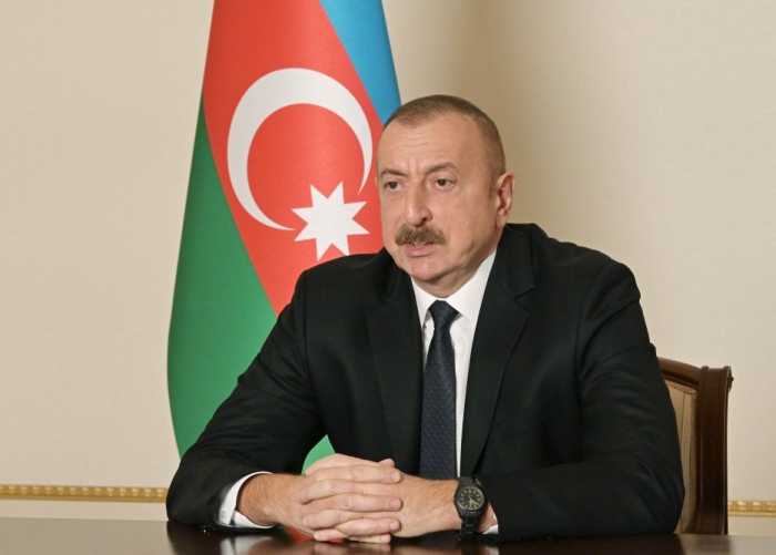 President Aliyev: Companies from three friendly countries already involved in reconstruction projects in Karabakh