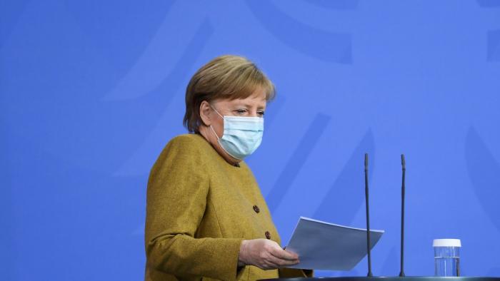 Merkels Juristen sehen Notbremse kritisch