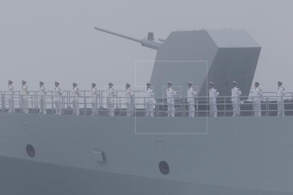 China comienza maniobras militares cerca de Taiwán, durante la visita de EE. UU.
