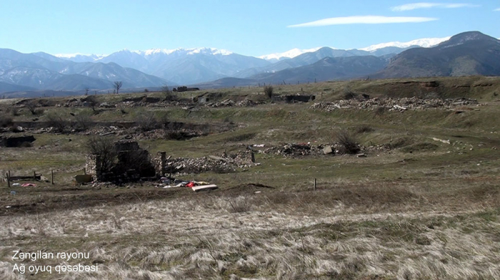 Agh Oyug settlement of Azerbaijan's Zangilan district –  VIDEO