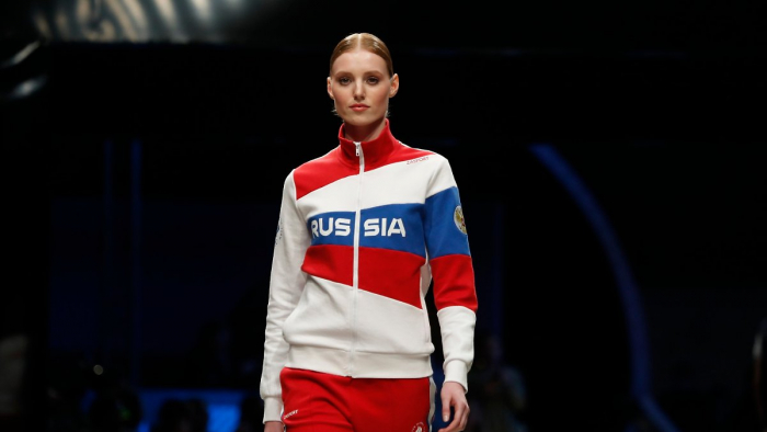 Russland provoziert mit Olympia-Outfit