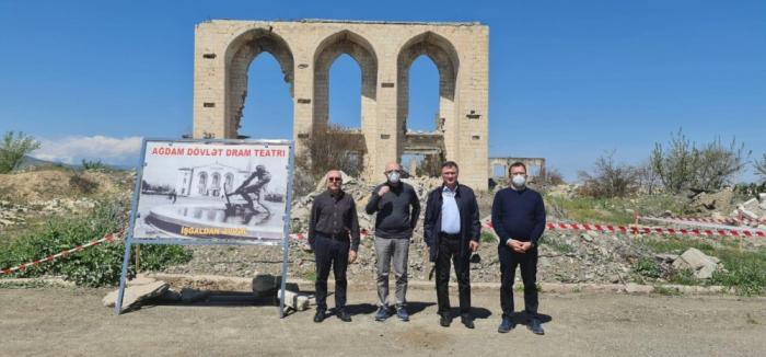 Italian delegation visits Aghdam