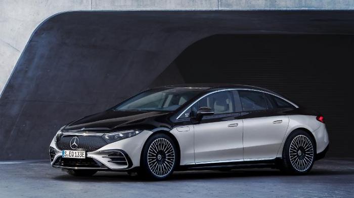 Mercedes EQS feiert Weltpremiere