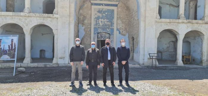 Italienische Delegation besucht Agdam -   FOTOS