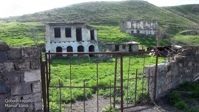 El Ministerio de Defensa emite imágenes de la aldea Mamar de Gubadli