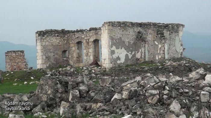 La aldea de Saybali de Aghdam-  Video