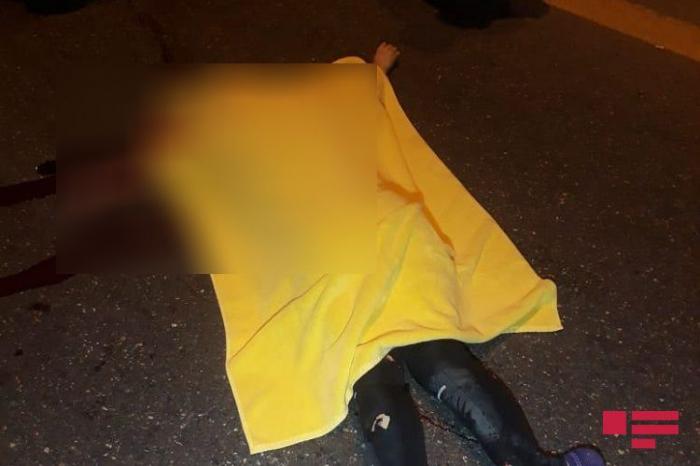 Aeroport yolunda dəhşətli qəza:    Ana və oğlu öldü, qızı yaralandı