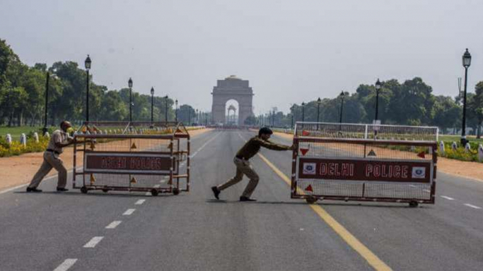 India's capital to be under strict lockdown for six days