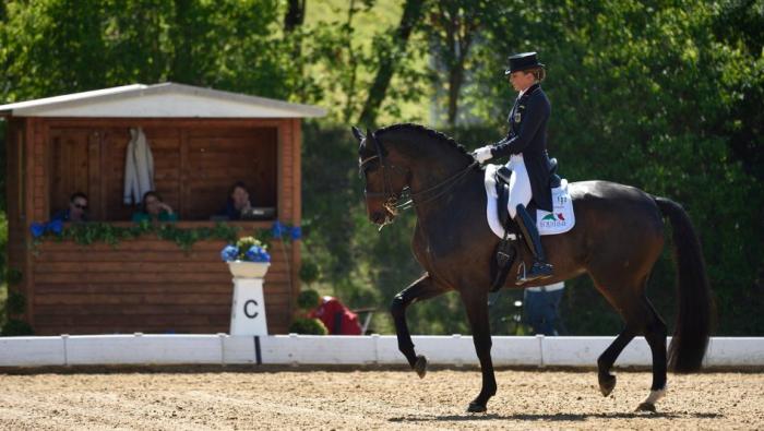 Stute von Olympiasiegerin Dorothee Schneider stirbt bei Siegerehrung